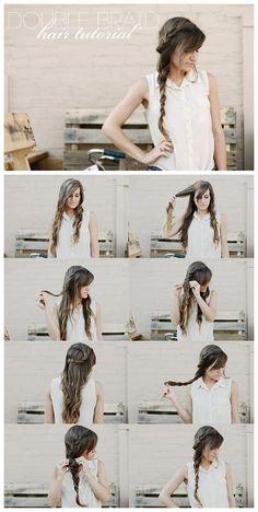 Hair Tutorial: How to do Cute Double Braid