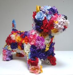 Terrierist by robert bradford do it yourself upcycling robert bradford flower dog solutioingenieria Image collections