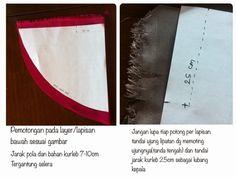TUTORIAL DOUBLE LAYER KHIMAR/kerudung