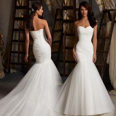 Elegant mermaid wedding dress - Uniqistic.com