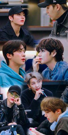 Vlive Bts, Bts Bangtan Boy, Bts Taehyung, Jungkook And Jin, Foto Bts, Bts Group Picture, Bts Group Photos, Bts Memes, Bts Backgrounds