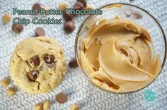 Here are our mouthwatering Peanut Butter Chocolate Chip Cookies. #peanutbutter  #cookies