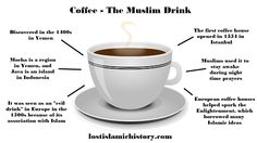 Little known facts about the hidden Islamic history of coffee. Is Starbucks promoting #creepingShariah?