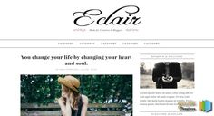 Eclair Blogger Template