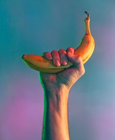 Power to the banana - light test