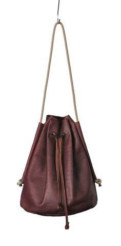 Fran Bucket Bag - Bordeux — eleven thirty shop