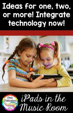 Join Pitch Publications for Tech Talk Tuesday for some fun ideas for tech in the elementary music room!