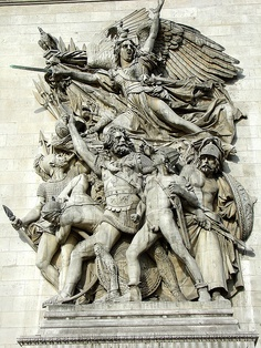 Francois Rude   Departure of the Volunteers of 1792, Marble, Napoleons Arch