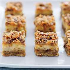 My Favorite Things: Creamy Peanut Butter Crunch Cheesecake Squares