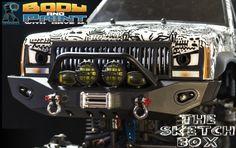 67 72 K5 Blazer Rock Crawler Rc Body Axial Wraith Ax10