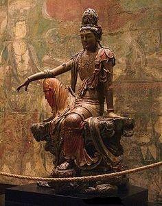 Ajanta Caves, Guanyin, Buddhist Art, Art Institute Of Chicago, Jolie Photo, Gods And Goddesses, Woman Painting, New Art, Art Museum