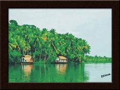 Feel the freshness inside of you with this amazing artwork by Rachna Dongre, our very esteemed fan at www.facebook.com/iamgloob. To own,gift this please visit  http://www.gloob.in/painting.html