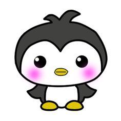 kawaii penguin by ~atchah on deviantART Easy Christmas Drawings, Chibi, Penguin Illustration, Ninja Cats, Boy Party Favors, Largest Dinosaur, Boy Cat, Stress Relief Toys, Kawaii Cute