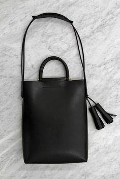 simple black bag
