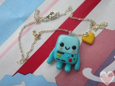 BMO necklace by Cookiesalt on Etsy