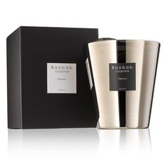 #Baobab platinum candle 16cm #giftlibrary £99
