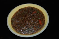 Baja Fresh Salsa Negra: The BEST salsa in the world!! The secret is roasting the tomatoes until they blacken. I could drink this salsa by the gallon!