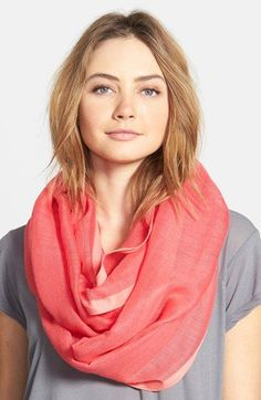 Halogen®+Infinity+Scarf+available+at+#Nordstrom