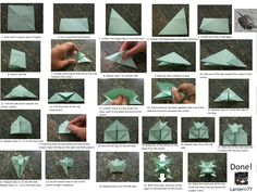 origami directions - Google Search