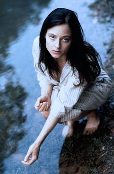 Her physicality and gesturing were beautiful. Jodie Foster in NELL.