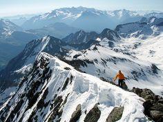 Cresta de Bardamina, ¡espectacular!. Localización: Pirineos, Huesca, Aragón, España. Spain