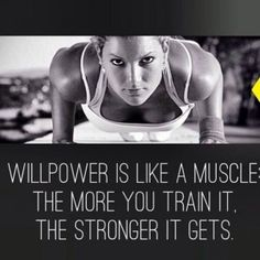 Willpower is like a muscle quotes fitness exercise fitness quotes workout quotes exercise quotes willpower Motivation Yoga, Fitness Motivation Quotes, Health Motivation, Weight Loss Motivation, Tuesday Motivation, 21 Day Fix Journal, Motivation Inspiration, Fitness Inspiration, Style Inspiration