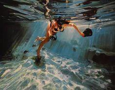 """Saatchi Art Artist Marco Ortolan; Painting, """"Diving the Ocean"""" #art"""