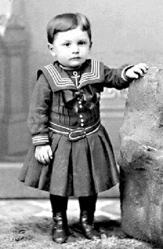 Children's fashion from 1900s or 1910s: This was a time of ...