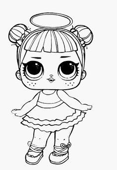 lol surprise doll coloring pages cherry | para colorir | desenhos infantis para colorir, boneca