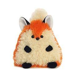 "New Willow Wisps Fox Plush, 5 "" High Small Size Cute Animal Doll #Aurora"