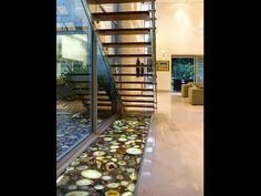 Backlit translucent semi precious gemstone floor. Flooring Design Ideas We Love at Design Ideas We Love at Design Connection, Inc. | Kansas City Interior Design http://www.designconnectioninc.com/blog #InteriorDesign