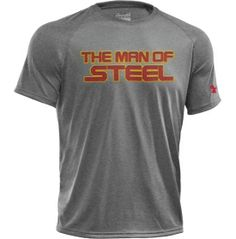 Under Armour Men's Alter Ego Man of Steel Graphic T-Shirt - Dick's Sporting Goods Under Armour Outfits, Under Armour Men, Sport Outfits, Boy Outfits, Gym Swag, Man Of Steel, Suit And Tie, Workout Gear, Sportswear