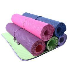 39abb0406 Eco-friendly Double Side Dampproof Sleeping Mattress Mat Exercise EVA Foam  Yoga Pad TPE Yoga