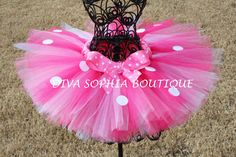 Hey, I found this really awesome Etsy listing at https://www.etsy.com/listing/115141068/pink-minnie-mouse-tutu-birthday-minnie