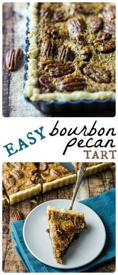 Forgiving and ultra- Forgiving and ultra-decadent this easy...  Forgiving and ultra- Forgiving and ultra-decadent this easy bourbon pecan tart is the perfect finale to your holiday meal! Recipe : ift.tt/1hGiZgA And My Pinteresting Life | Recipes, Desserts, DIY, Healthy snacks, Cooking tips, Clean eating, ,home dec  ift.tt/2v8iUYW