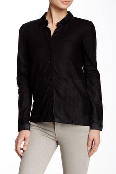 Epernay Genuine Goat Leather Shirt
