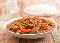 Sauté de porc aux légumes au Cookeo,un délicieux plat de porc pour votre déjeuner, voila la recette la plus facile pour le cuisiner.