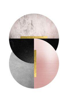 Deco Geo I Canvas Print by Urban Epiphany Cute Patterns Wallpaper, Geometric Wallpaper, Coperate Design, Pattern Design, Painting & Drawing, Illustration Inspiration, Image Deco, Motif Art Deco, Circle Art