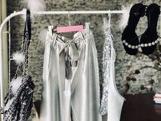 Silver is timeless Wardrobe Rack, Silver, Money
