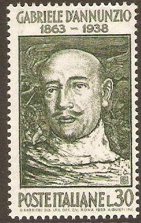Gabriele D'Annunzio - 100^ anniversario della nascita