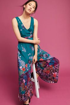 Anthropologie A Line Floral Applique Skirt By Lithe Size 0 Can Be Repeatedly Remolded. Skirts