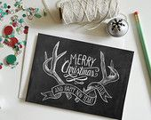 Hand Lettered Chalk Art by Valerie McKeehan by LilyandVal on Etsy
