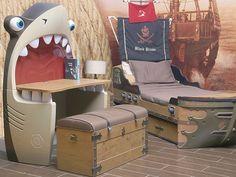Escritorio Tiburón Kids & Teens Azul Pirata-Liverpool es parte de MI vida
