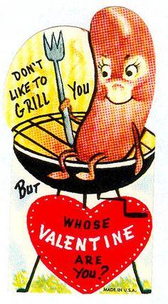 My Funny Valentine, Vintage Valentine Cards, Vintage Greeting Cards, Vintage Holiday, Valentine Day Cards, Vintage Postcards, Happy Valentines Day, Old Cards, Vintage Humor