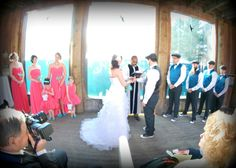Arctic Encounter Wedding Ceremony
