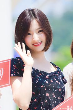 180612 Saerom @ The Show Mini Fanmeeting Cute Korean Girl, South Korean Girls, Korean Girl Groups, Asian Girl, Sweet Girls, Cute Girls, Gong Seung Yeon, Brave Girl, Lee Seo Yeon