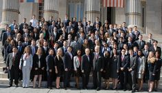 The Kings County District Attorney's Office's 2013 Class of Legal Interns. The interns will spend the summer getting a first-hand look at how the criminal justice system works as they observe prosecutors, attend court proceedings, and do legal work that is pertinent to ongoing court cases.