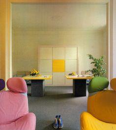 Salvati and Tresoldi, Apartment, Circa 1982