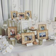 Remembering loved ones that have passed Christmas Wedding, Fall Wedding, Our Wedding, Dream Wedding, Wedding Ideas, Wedding Memorial Table, Wedding Entrance Table, Wedding Table, 90th Birthday Parties