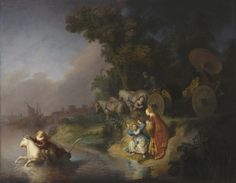 el rapto de europa rembrandt - Rembrandt